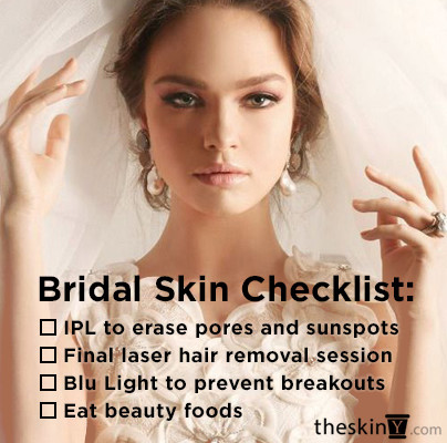 Want Great Skin for your Wedding?