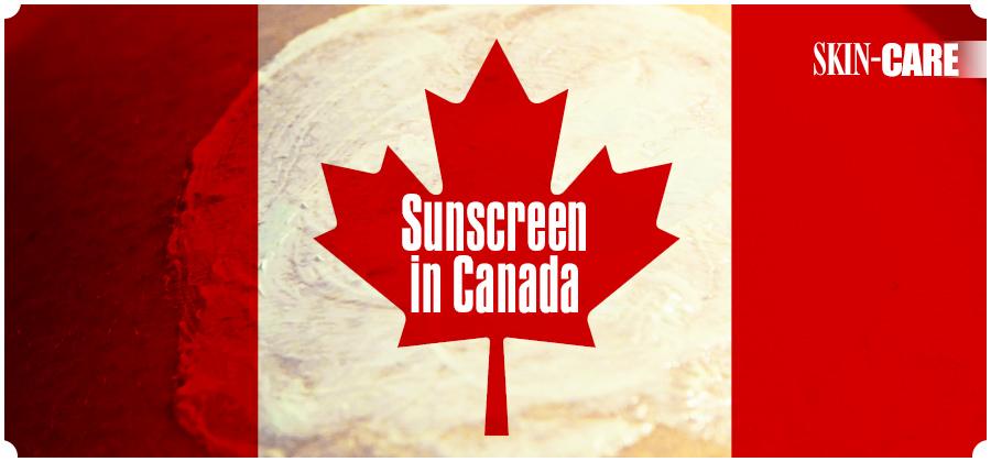 Sunscreen in Canada
