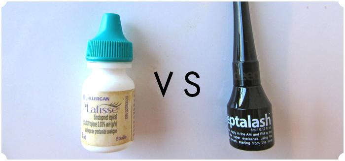 Latisse vs. Peptalash