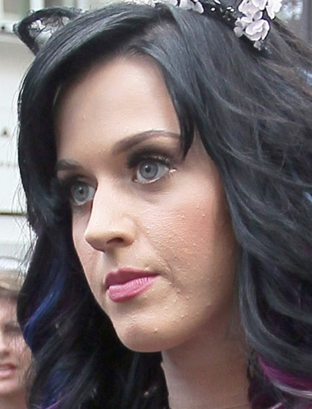 Katy Perry Bad Skin Celebrities wit...