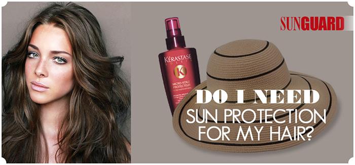Sunscreen for hair?