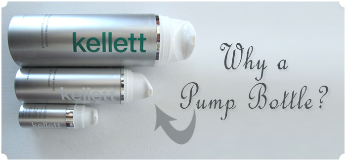 Why a pump bottle?