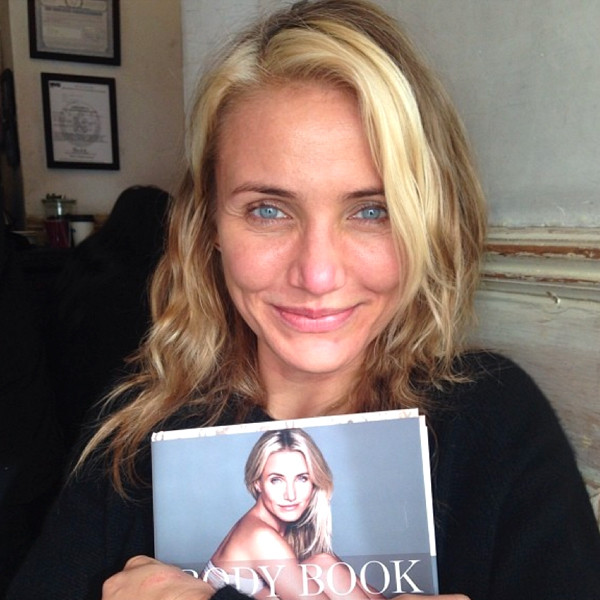 Cameron Diaz and her new book