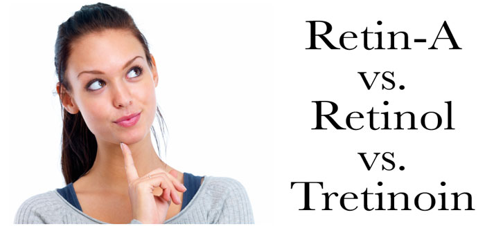 Retin-A vs. Retinol vs. Tretinoin - The Skiny