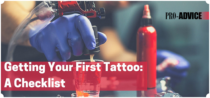 Getting your first tattoo