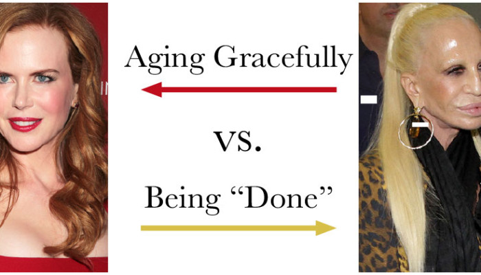 "Aging Gracefully vs. Being ""Done"""