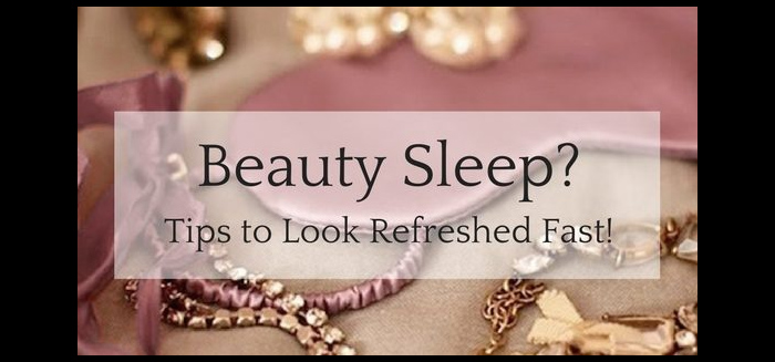 Tips to Look Less Tired
