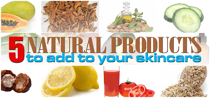 5 Natural Skincare Products