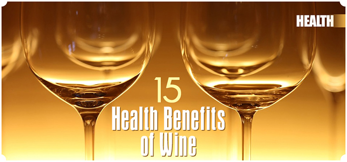 15 Health Benefits of Wine