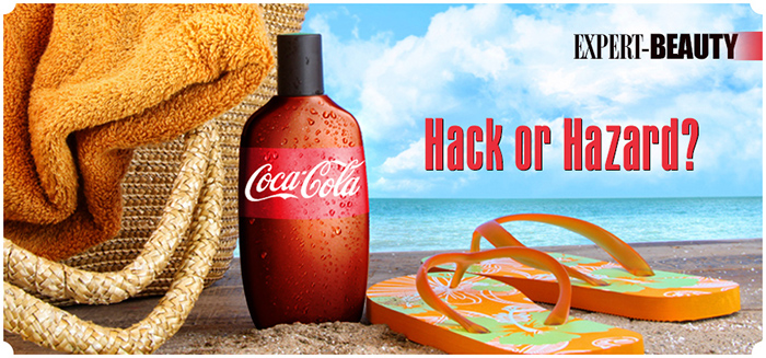 Coca-Cola as Tanning Lotion?