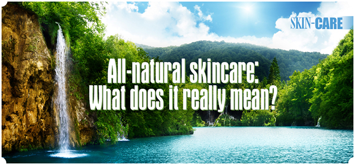All-natural skincare