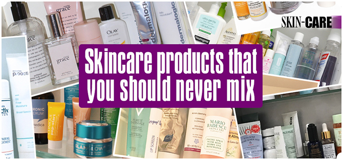 Products that don't mix