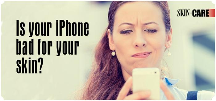 How smartphones affect skin