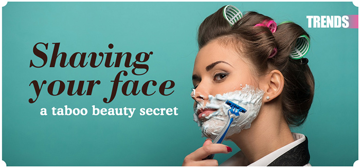 Should women shave their face?