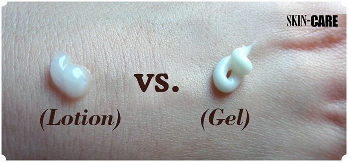 Lotion vs Gel