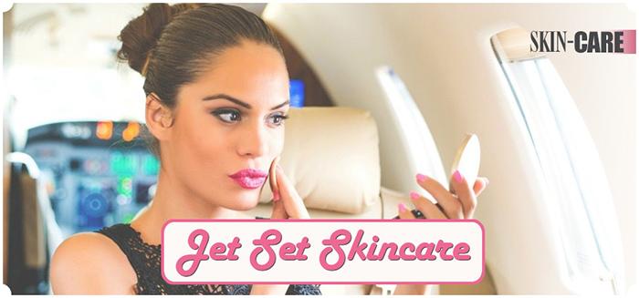Jet set skincare